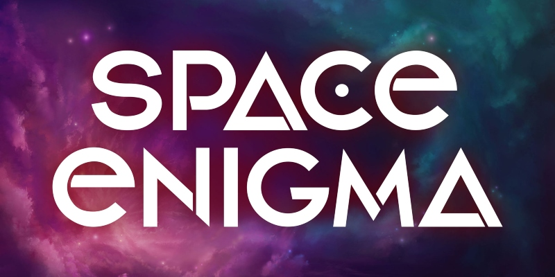 Space Enigma logotipo; Spin Palace Blog