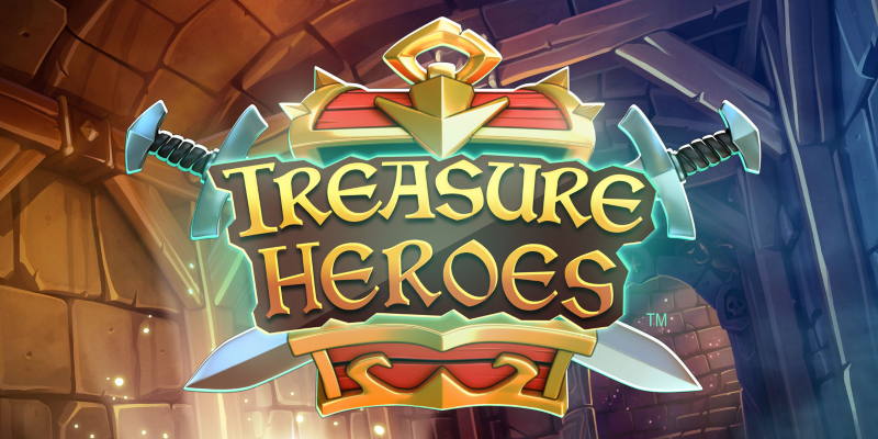 Treasure Heroes logotipo; Spin Palace Blog