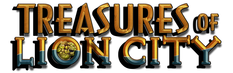 Treasures of the Lion City logo, New Game, Spin Palace Blog