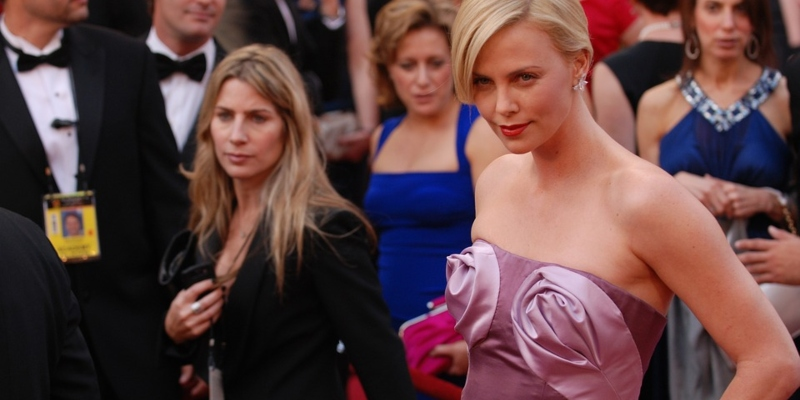 Charlize Theron, die Hauptdarstellerin des Films Long Shot; Spin Palace