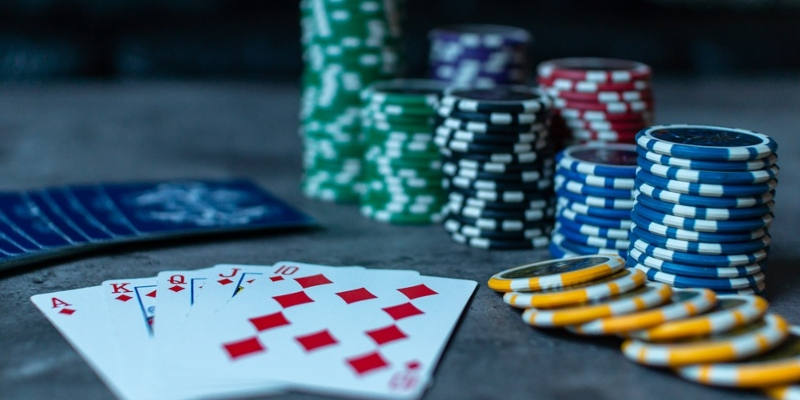 Poker Chips and Cards; Spin Casino Blog