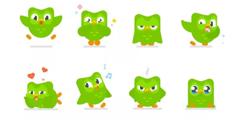 Mascotte verte de Duolingo; Spin Palace Blog