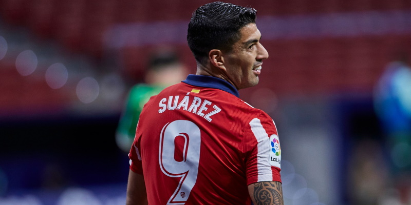 Atletico Madrid forward Luis Suarez