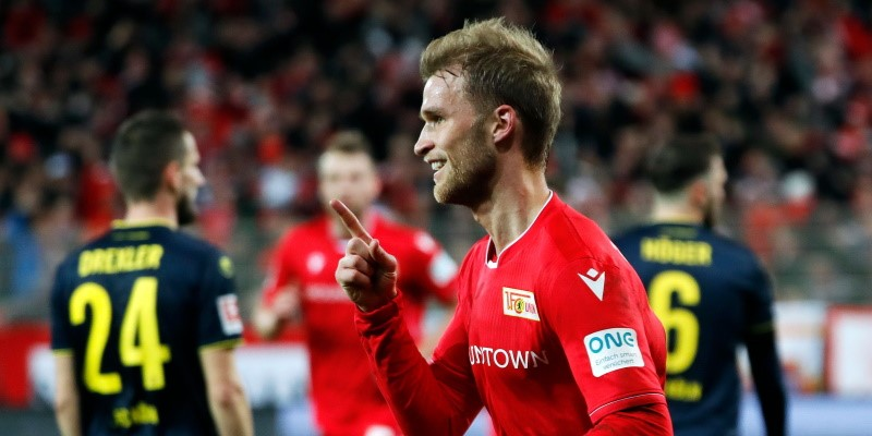 Union Berlin forward Sebastian Andersson