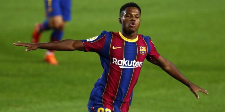 Barcelona and Spain forward Ansu Fati