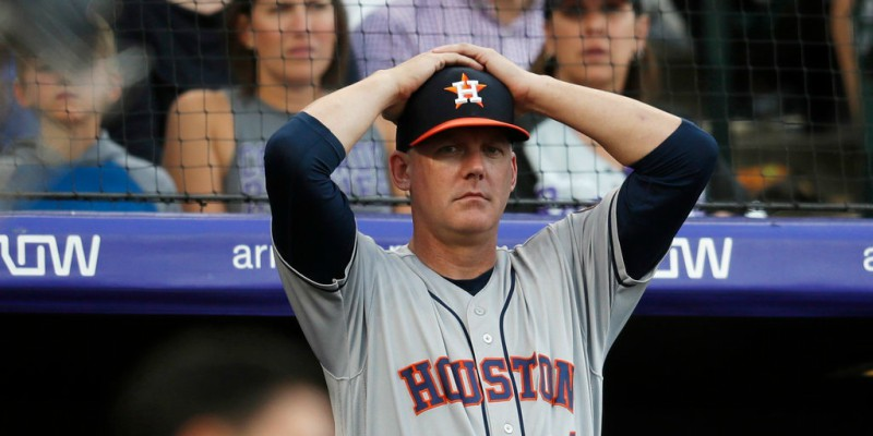 Astros manager A.J. Hinch was fired by owner Crane in January