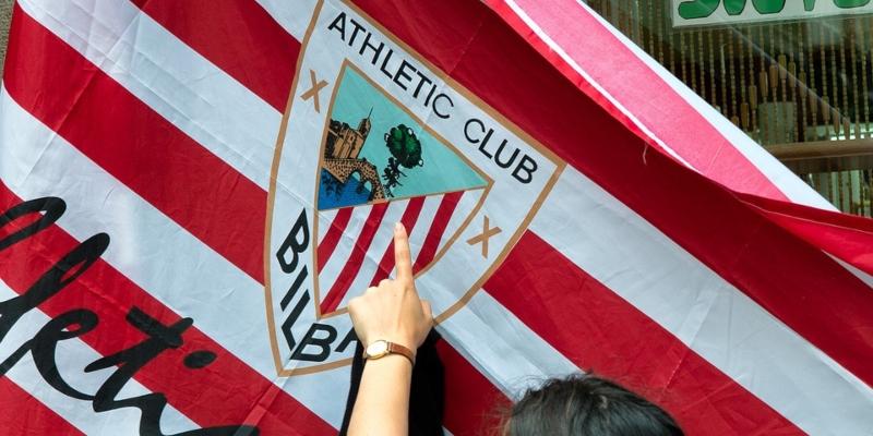 Athletico Bilbao flag: Spin Sports blog