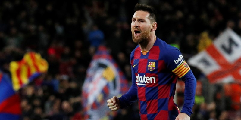 Barcelona forward Lionel Messi; Spin Sports Blog