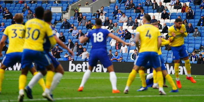 Spin Sports: Brighton and Chelsea in action in their August friendly