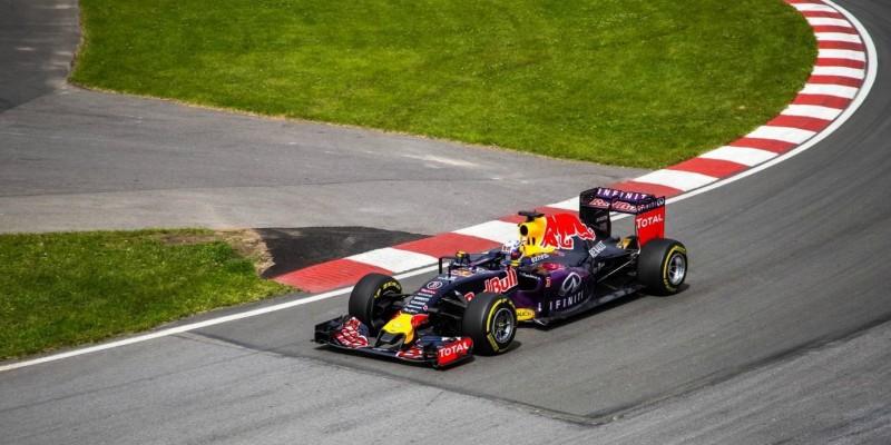 Voiture de F1 de l'écurie Red Bull