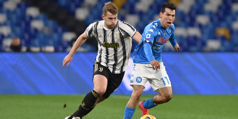Hirving Lozano and Matthijs de Ligt compete earlier in the season; Spin Sports Blog