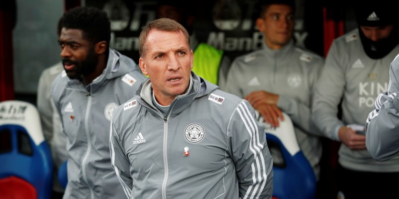 Leicester manager Brendan Rodgers; Spin Sports Blog