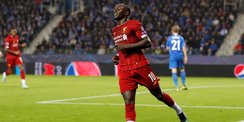 Liverpool forward Sadio Mane; Spin Sports Blog