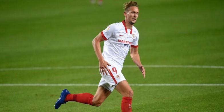 Sevilla striker Luuk de Jong