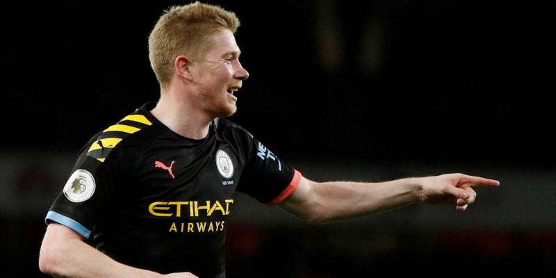 Manchester City midfielder Kevin De Bruyne; Spin Sports Blog