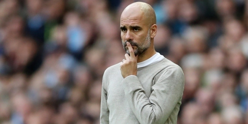 Manchester City coach Pep Guardiola; Spin Sports Blog