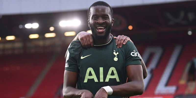 Tottenham midfielder Tanguy Ndombele