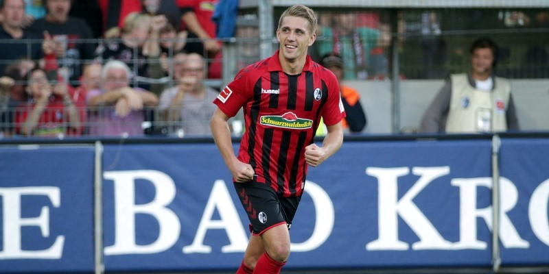 Freiburg striker Nils Petersen