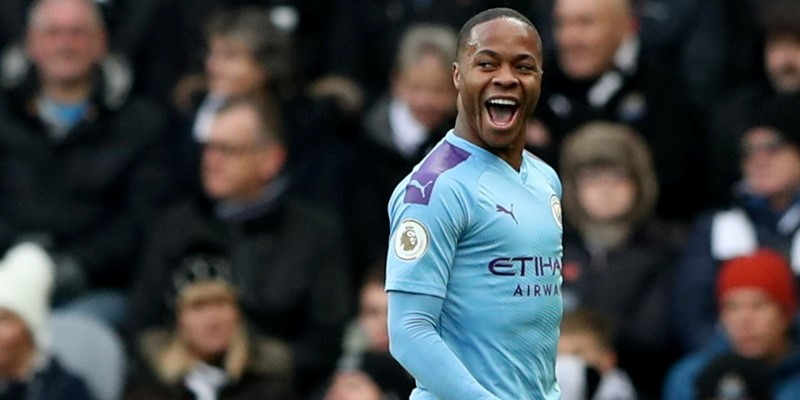 Manchester City forward Raheem Sterling; Spin Sports Blog