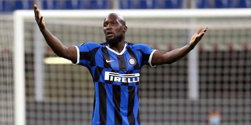 Inter striker Romelu Lukaku