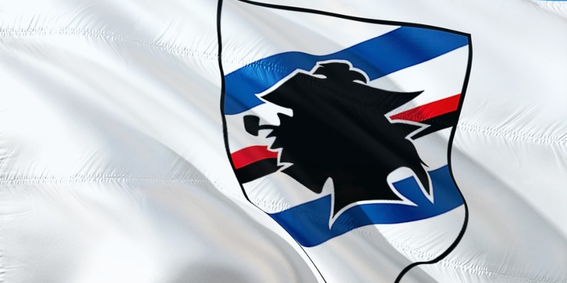 Sampdoria flag; Spin Sports blog