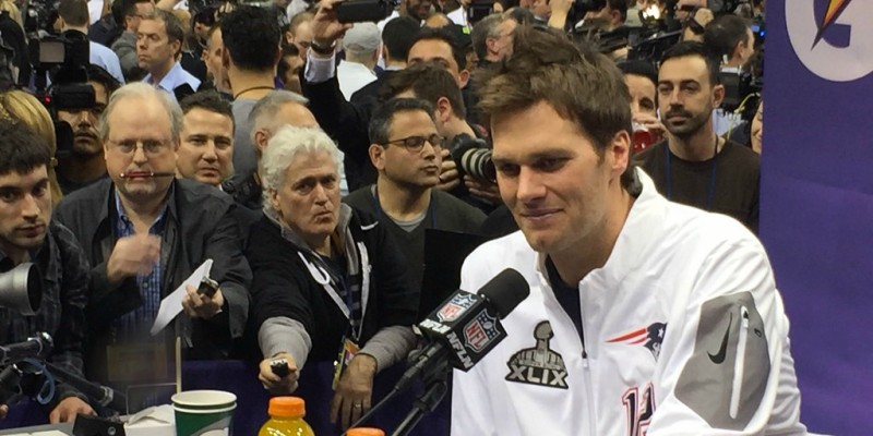 With his nerves of steel, Brady would've made an excellent poker player, both on land and online casinos.