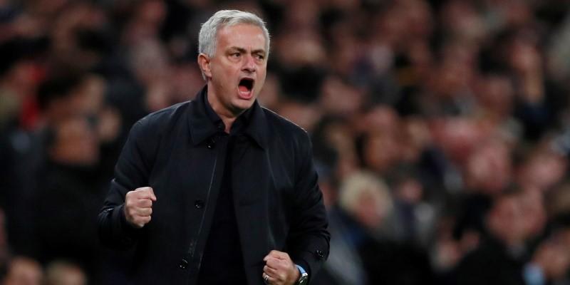 Tottenham manager Jose Mourinho; Spin Sports Blog