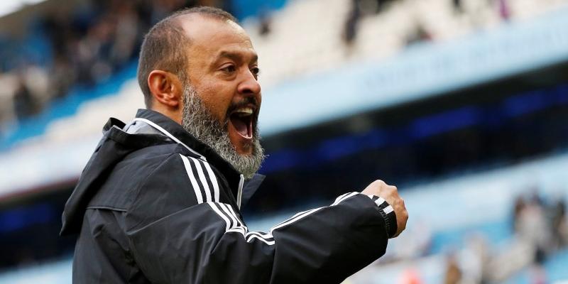 Wolves coach Nuno Espirito Santo, Spin Sports Blog
