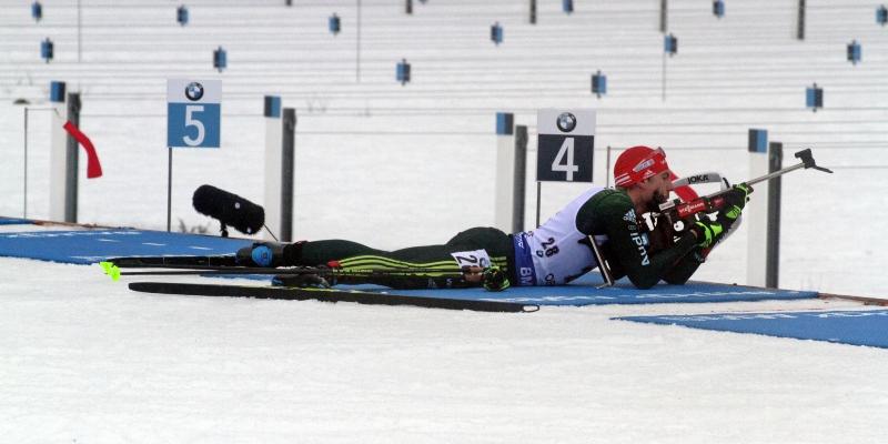 Arnd Peiffer beim Biathlon-Weltcup 2018 in Oberhof