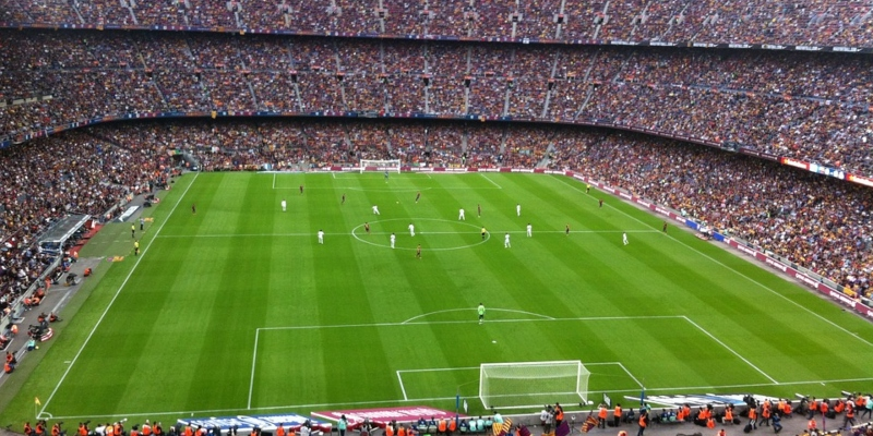 Football stadium Camp Nou; Spin Sports Blog