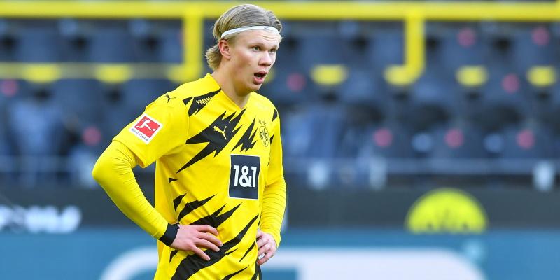 Borussia Dortmund's prolific forward Erling Haaland