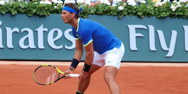 Rafael Nadal at the 2017 Roland-Garros tournament