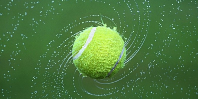 Tennis Ball Spinning