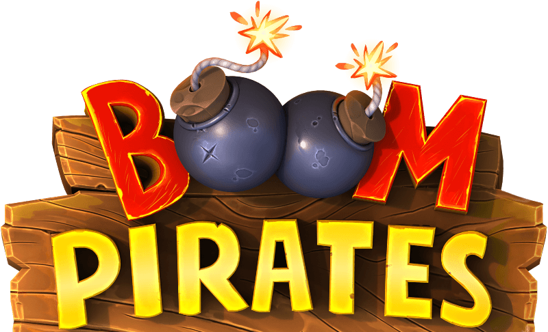 Boom Pirates game logo