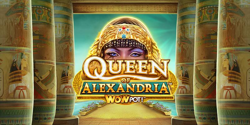 Queen of Alexandria Wowpot machines à sous en ligne