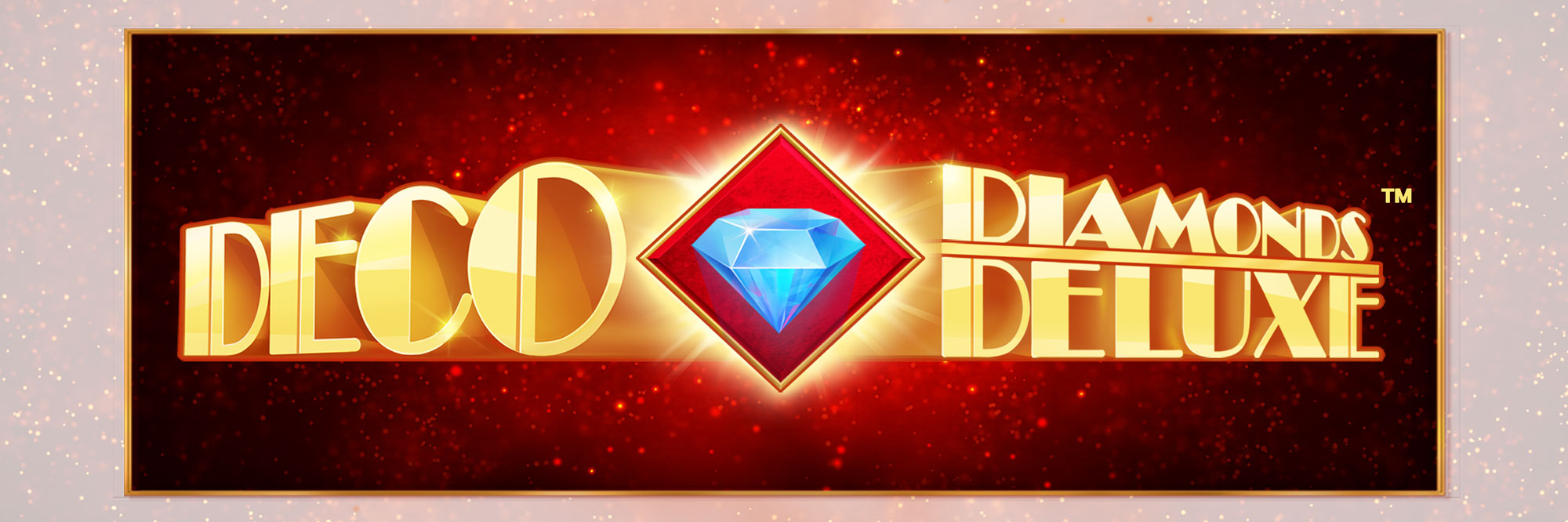 Deco Diamonds Game Logo