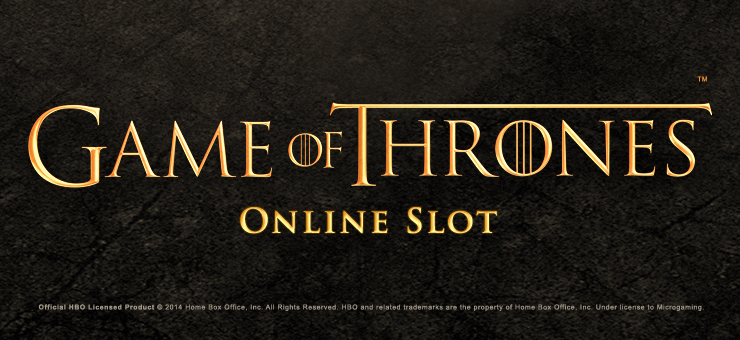 Game of Thrones online slot logo