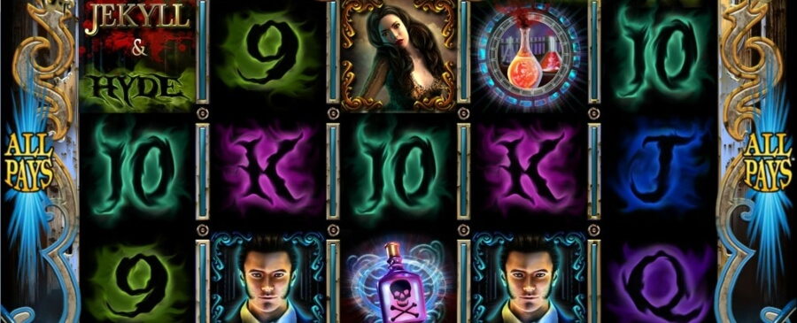 Jekyll & Hyde slot in action