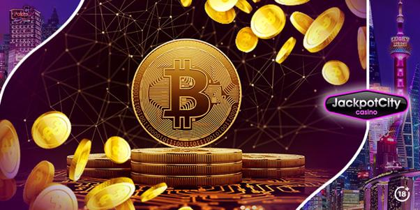 La cryptomonnaie au casino en ligne JackpotCity