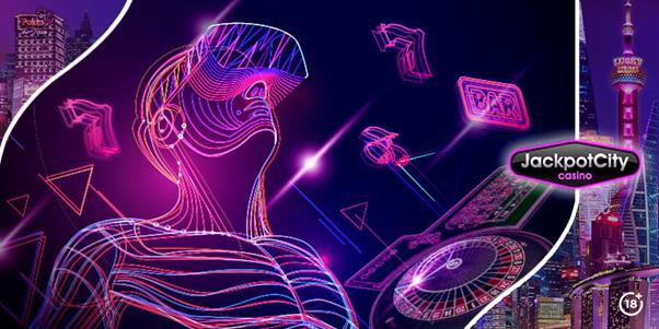 La Réalité Virtuelle au casino en ligne JackpotCity