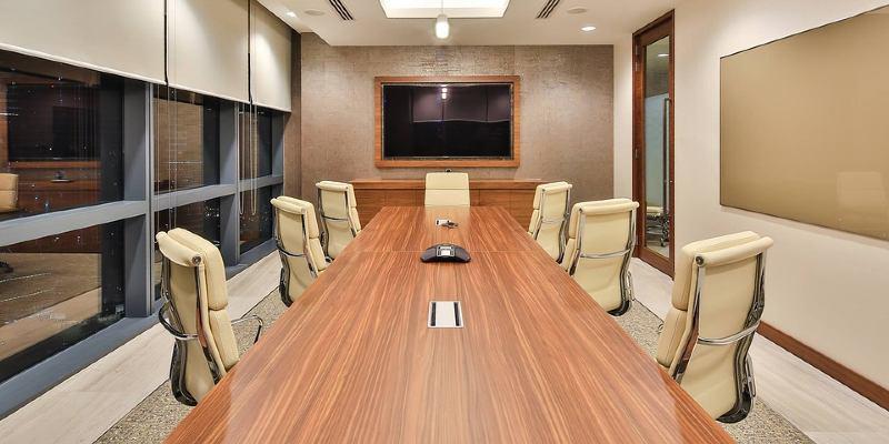 tomt møterom