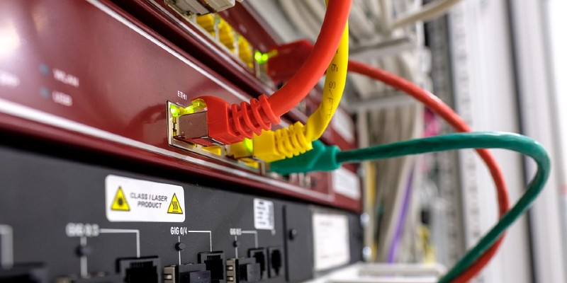 Network cables and internet connectivity machinery