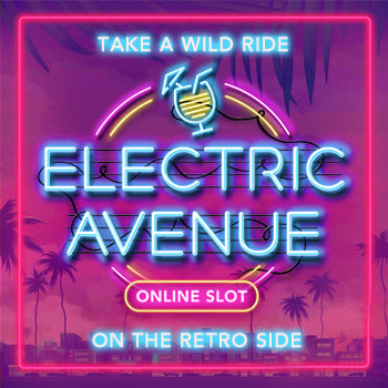 Electric Avenue Slot en ligne: Ruby Fortune Casino