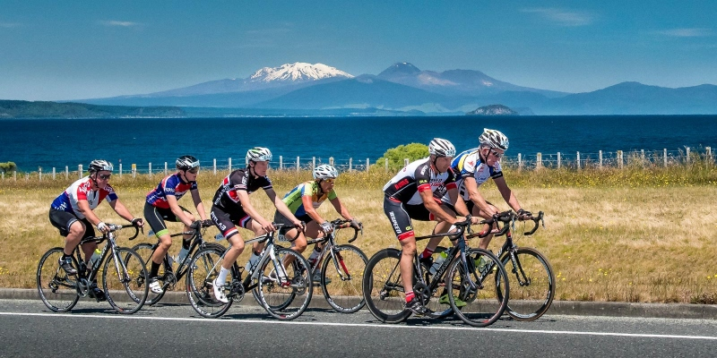 Cycling Lake Taupo