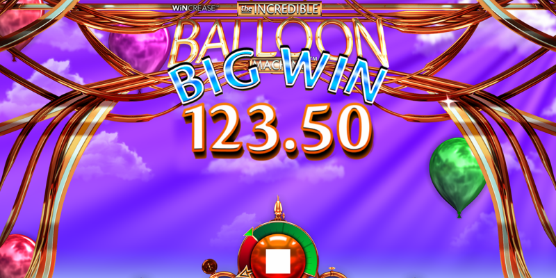Ruby Fortune: Online Pokie The Incredible Balloon Machine
