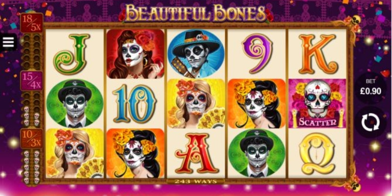 Ruby Fortune Casino: beautiful bones online slot