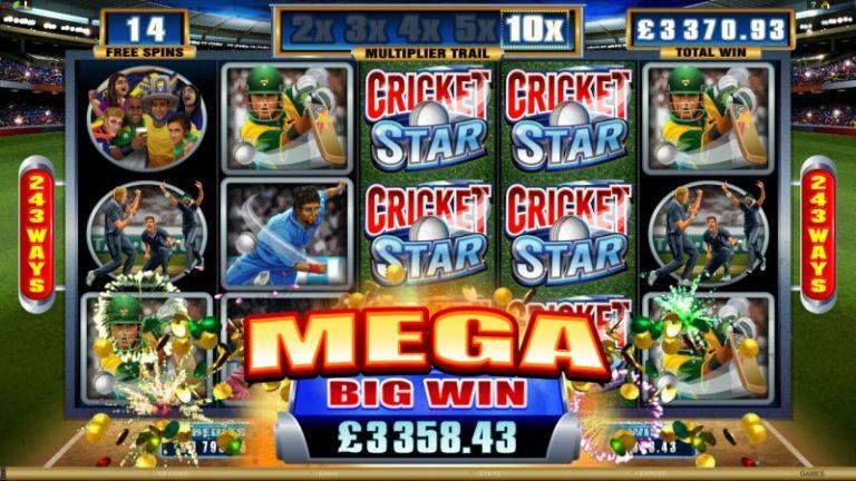 Cricket Star Spelautomat